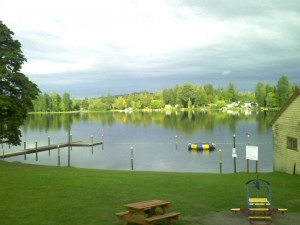 Access Black Lake, just a few minutes from downtown Olympia, via Columbus Park.