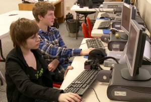 NCHS COmputer students
