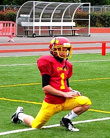 Carson Bertelli Capital High School Football