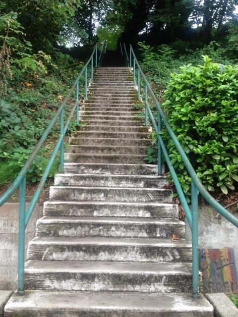 tumwater hill stairs