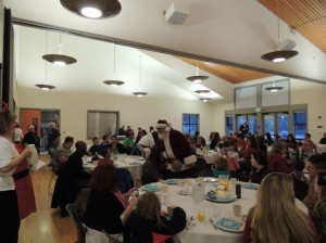 Lacey Parks and Recreation's 2nd Annual Breakfast with Santa is a family event that is sure to become a beloved tradition.