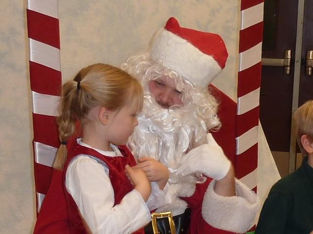 Lacey's Signing Santa