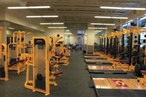 Capital High School Weight Room