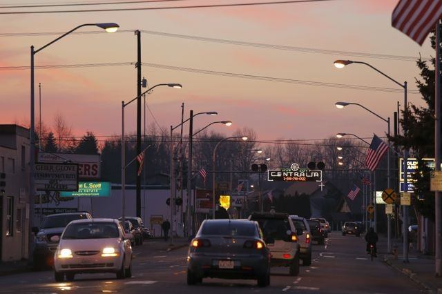 centralia street lights