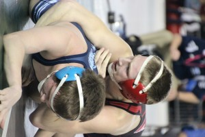 Though he did not pin his opponent for the first time this season, Yelm's Darren Harris controlled the state championship match of the 4A 120 lbs. division from start to finish and defeated Central Valley's Bryson Beard 5-0.