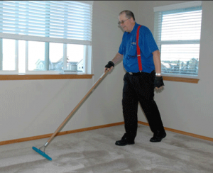 "Steve Short, owner of A Steve's Carpet Cleaning, makes a home's carpet ""good as new."""