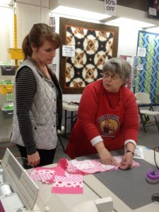 olympia sewing class