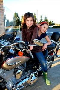 NW Harley Kids on Bike