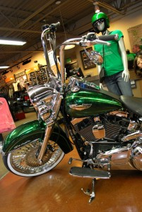 NW Harley St Patricks Bike