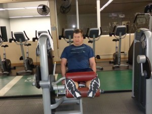 Treacy Duerfeldt Lifts Weights In Fight Against Polio