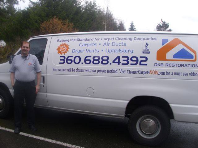 DKB Restoration Cleans Carpets, Ducts around Olympia