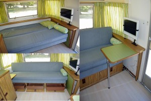 Awe Inspiring Step Inside Vintage Airstream Trailers Thurstontalk Andrewgaddart Wooden Chair Designs For Living Room Andrewgaddartcom