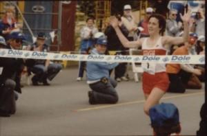 women marathon history