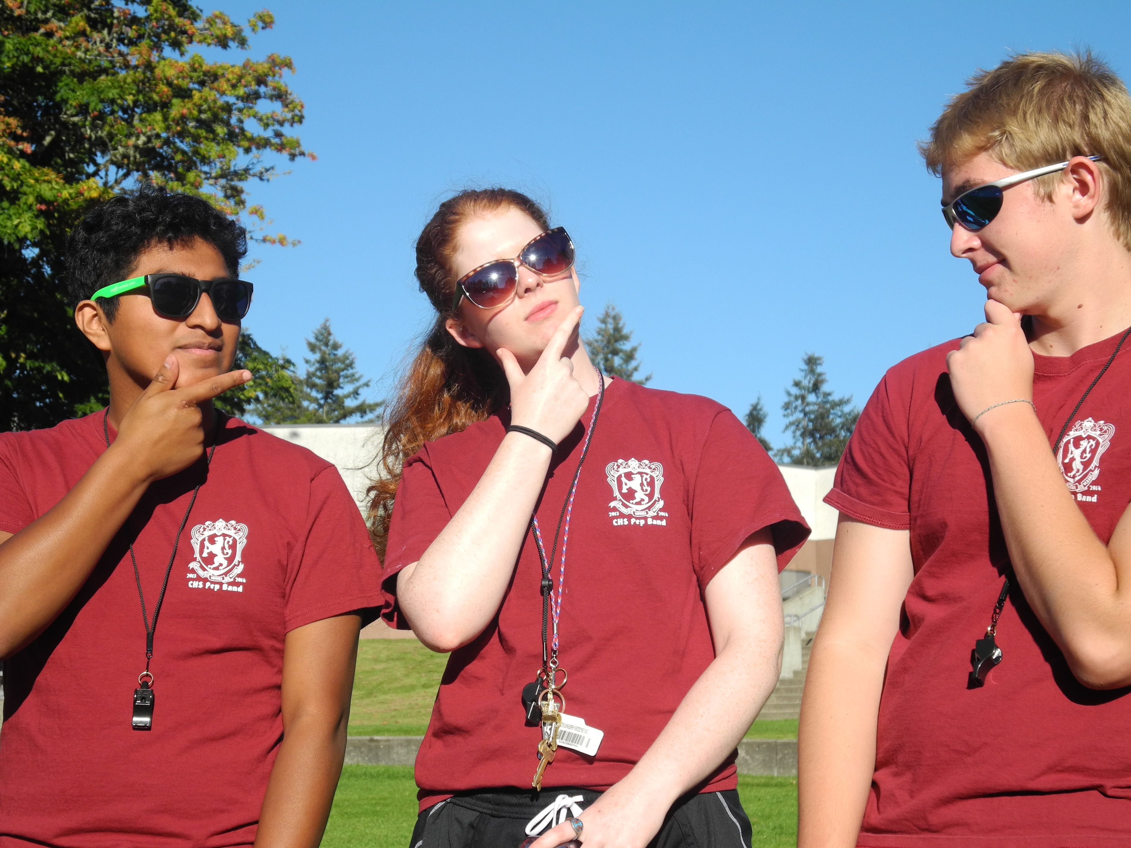 capital high school band