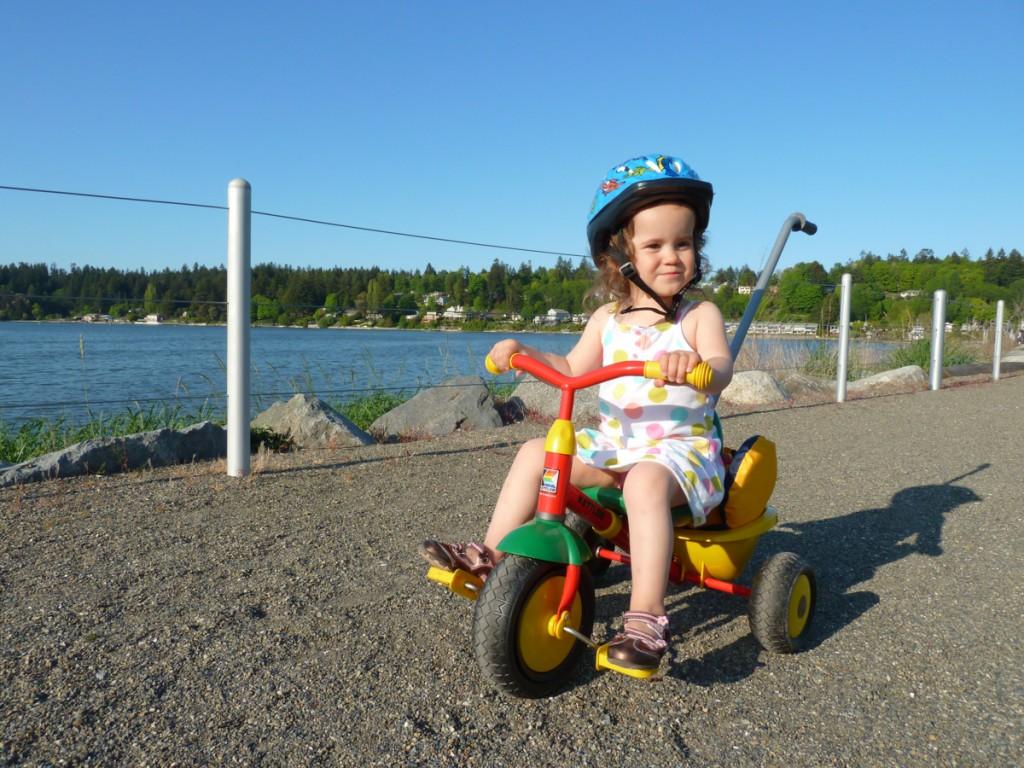 Thrifty Thurston Rides Bikes With Kids - ThurstonTalk