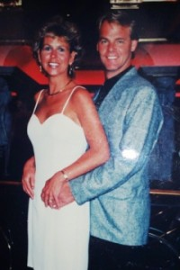 Lori and Ken Morefield on their honeymoon.  Lori's original wedding ring was custom designed by Hartley Jewelers.