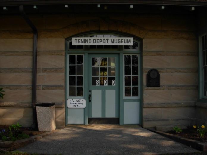 tenino train depot