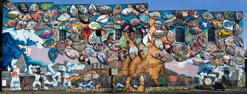 Collective Vision Mural Program Call for Muralists for