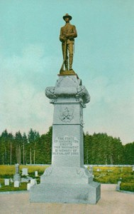 tumwater soldiers monument