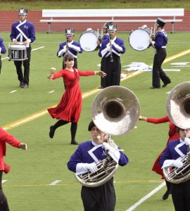 north thurston marching band