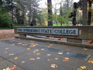 The Evergreen State College is located in Olympia.