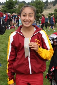 In her first year running cross country, Naomi Reyes made it all the way to WIAA 3A State competition.