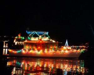 lighted ships parade