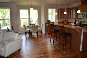 Rob Rice Homes have high value with premium features included in the price of the home. (Chestnut Village) Photo Credit: Barb Lally