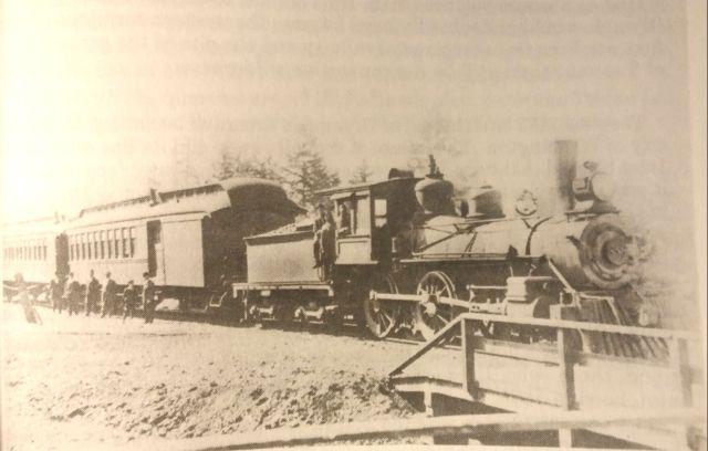 olympia railroad history