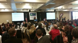 The awards ceremony that recognized Rob Rice Homes drew its highest attendance in the history of the award.