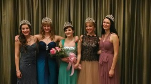 The 2015 Capital Lakefair royalty court consists of Clarissa Jenkins from North Thurston High School, Emily Grahn from River Ridge High School, Madeline Poultridge from Avanti High School, Julia Holder from Olympia High School and Olivia Wittenberg from Capital High School.