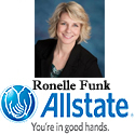 Ronelle Funk Allstate Logo