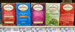 Any time is tea time and you can purchase a box to share with friends for under $5.