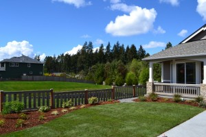 Rob Rice Homes designs beautiful landscaping that only gets better with time.