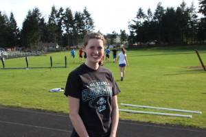 Abby McSheffrey returns for her senior year for the Navigators.