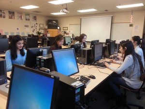 Students in Dot Diva are able to learn the basic skills of programming through the club.