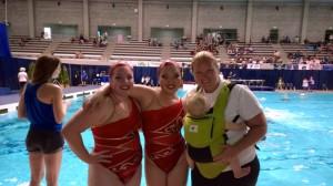 olympia synchronized swimming