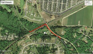 Chehalis Western Trail Closure