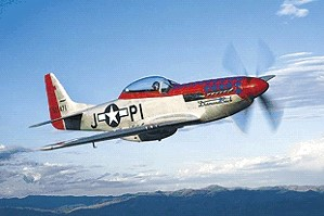 TF-51 Mustang Will Fly at Olympic Air Show June 27 and 28.