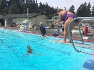 swimming olympia