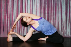 Jessica Whitney has trained in multiple styles of yoga in addition to studying the philosophy behind the practice.