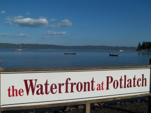Fall in love with the incredible views at Potlatch. Photo Credit Waterfront at Potlatch.