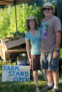 For TJ and Stephanie Johnson, Urban Futures Farm is a labor of love. Photo credit: Anne Fritzel