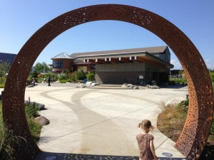 Olympia's East Bay Plaza, the Hands On Children's Museum and LOTT Wet Center make for a kid friendly day of play.