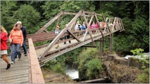 tumwater falls river walk tour