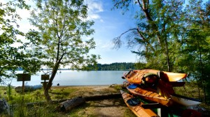 Hope Island is only accessible by boat and many people kayak to the secluded State Park. Image from Washington State Parks Foundation