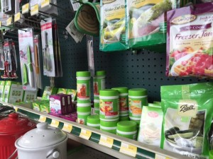 The canning section in Olympia Supply provides everything you'll need to create pickles and much more.