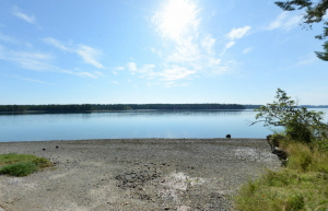 The beauty of the Puget Sound, as seen from Hope Island State Park. Image courtesy of the Washington State Parks Foundation