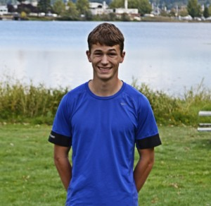 Luke Schilter, a junior at Northwest Christian, has his eyes set on individual and team titles at state this year.