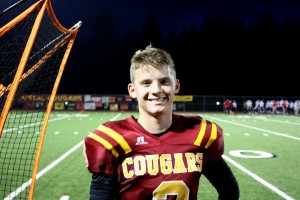 Van Soderberg is excited to pursue college football at the University of Washington.